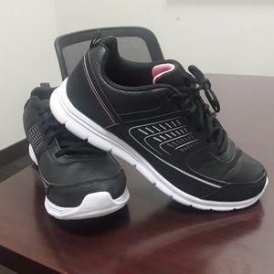 b206fe2f208a Women s Black And White White Champion Sneakers on Poshmark